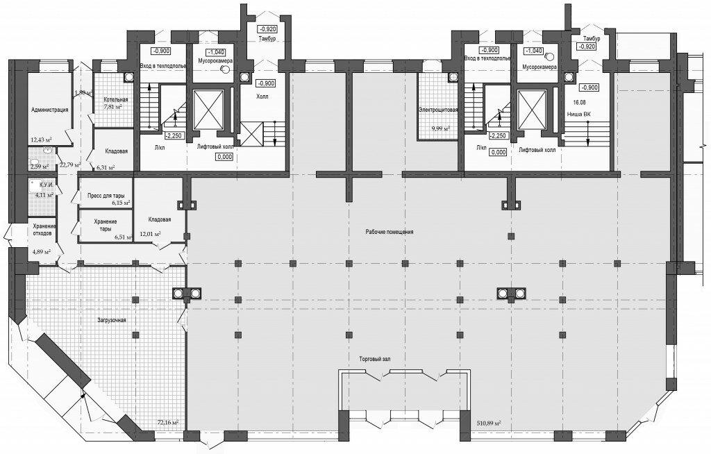 Ползунова 1 этаж 6,7 подъезд